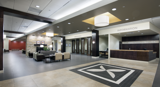 Main Lobby at Texoma Medical Plaza