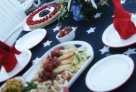 White Fish à la meunière with Strawberry Salsa
