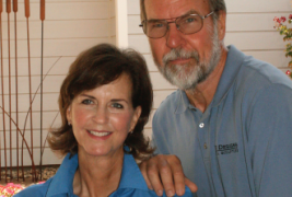 Reba Browning and Glenn Spelis