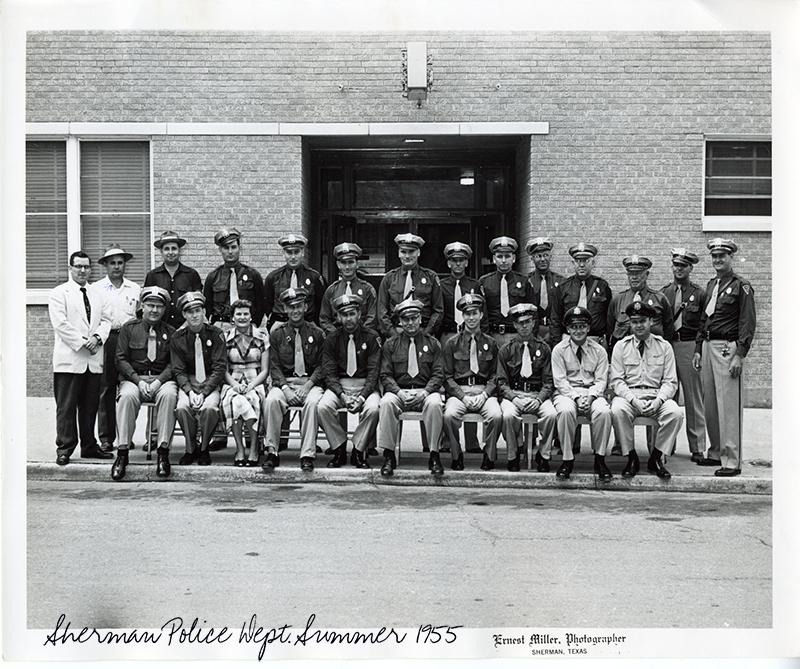 Sherman Police Dept. 1955