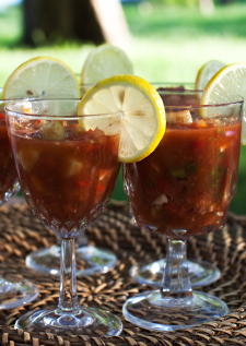 Cool, Spicy Gazpacho