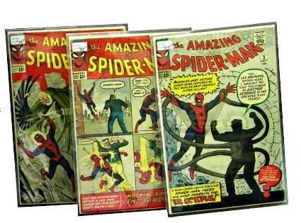 Collectible comic books